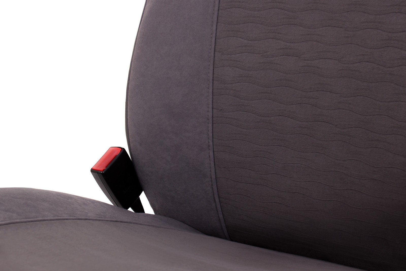 Car-Seat-Covers-Protector-for-Peugeot-Ion-Quito-Gray-Front